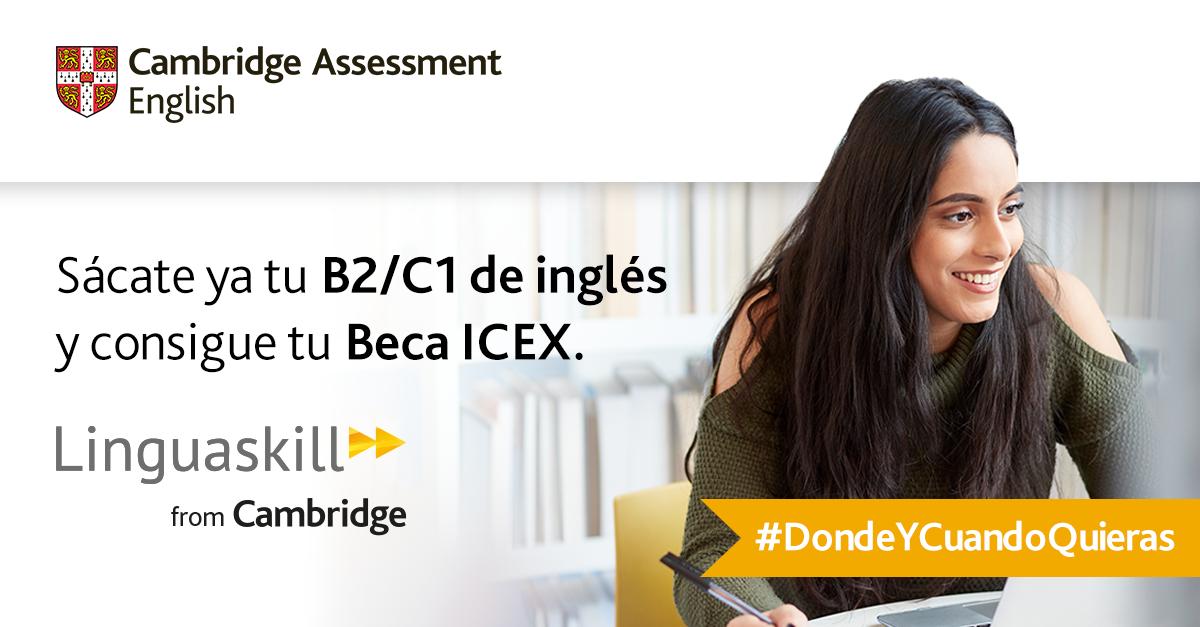 Acredita tu nivel de inglés con Linguaskill y preséntate a las Becas ICEX